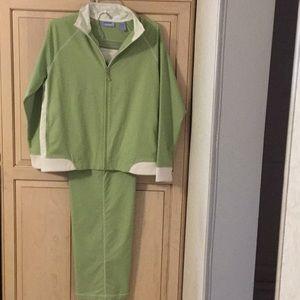 Jacket & Pant Set, Like New. Size M.
